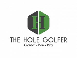 The Hole Golfer Logo